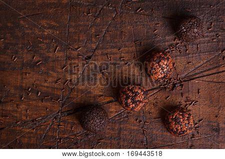 Brazilian Chocolate Truffle Bonbon Brigadeiro