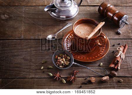 Chai Tea With Spices