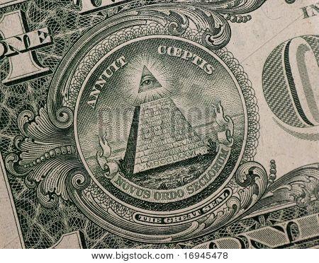 Symbol On One Dollar
