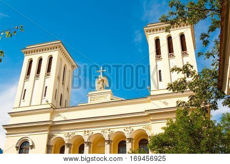 Lutheran Church of Apostles Peter and Paul in Saint-Petersburg Russia