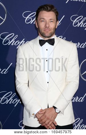 PALM SPRINGS - JAN 2:  Joel Edgerton at the Palm Springs International FIlm Festival Gala at Palm Springs Convention Center on January 2, 2017 in Palm Springs, CA