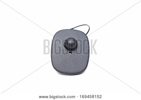 RFID hard tag isolated - Shoplifting and anti-theft system - Electronic Article Surveillance system used with high-value goods