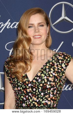 PALM SPRINGS - JAN 2:  Amy Adams at the Palm Springs International FIlm Festival Gala at Palm Springs Convention Center on January 2, 2017 in Palm Springs, CA