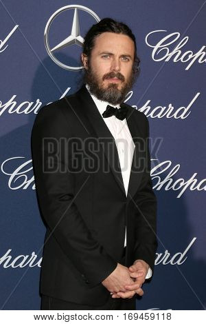 PALM SPRINGS - JAN 2:  Casey Affleck at the Palm Springs International FIlm Festival Gala at Palm Springs Convention Center on January 2, 2017 in Palm Springs, CA