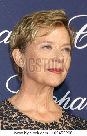 PALM SPRINGS - JAN 2:  Annette Bening at the Palm Springs International FIlm Festival Gala at Palm Springs Convention Center on January 2, 2017 in Palm Springs, CA