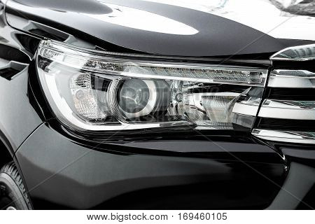 Head light of a pickup truck / part of car