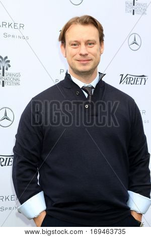 Palm Springs - JAN 3:  Otto Bell at the Variety's Creative Impact Awards and 10 Directors to Watch at the Parker Palm Springs on January 3, 2017 in Palm Springs, CA