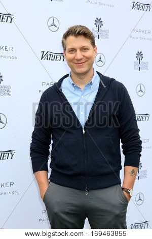 Palm Springs - JAN 3:  Jeff Nichols at the Variety's Creative Impact Awards and 10 Directors to Watch at the Parker Palm Springs on January 3, 2017 in Palm Springs, CA
