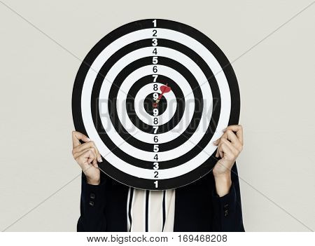 Darts board Bullseye Business Wear
