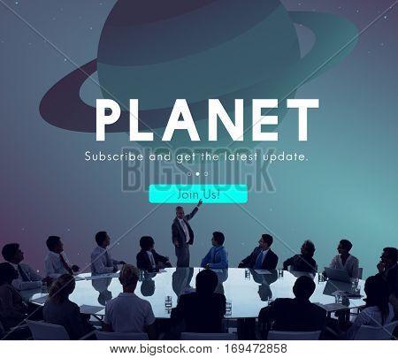 Planet Space Universe Star Concept