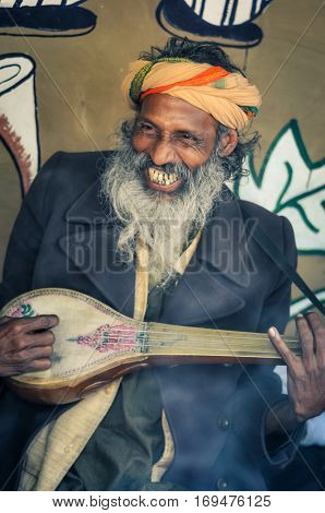 Smiling Man In West Bengal