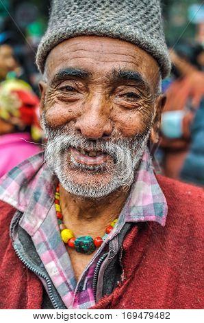 Smiling Man In Bihar