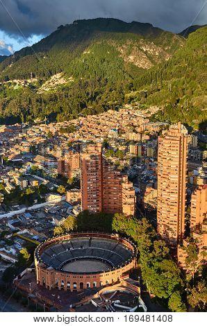 Bogota From The Colpatria
