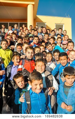 Adra School In Afghanistan
