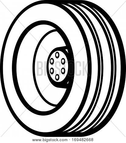 truck tire and wheel