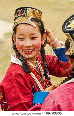 Pretty Girl In Arunachal Pradesh