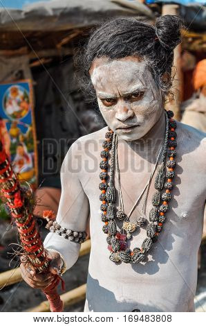 Angry Man In West Bengal