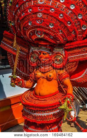 Worship Of Goddess In Kerala
