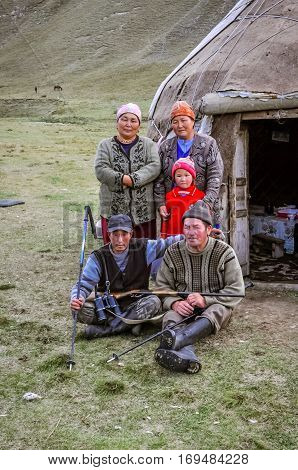 Nice Family In Kyrgyzstan