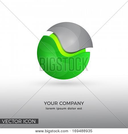 ABSTRACT SPHERE LOGO / ICON