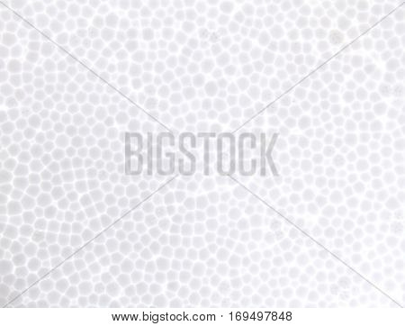 seamless Polystyrene foam texture background