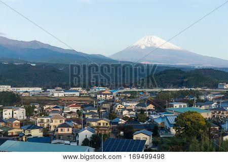 Mt. Fuji in Shizuoka city