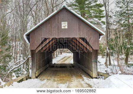 Blow-me-down Covered Bridge - New Hampshire