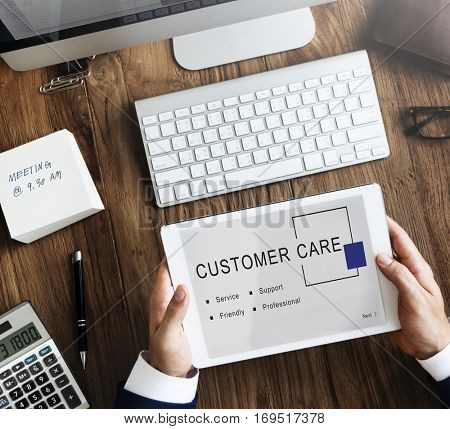 Customer Care Service Support Consumer Concept