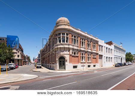 The Genesis Building in Fremantle, Western Australia, is an old building dating from the 1890's. Perth historical photos.