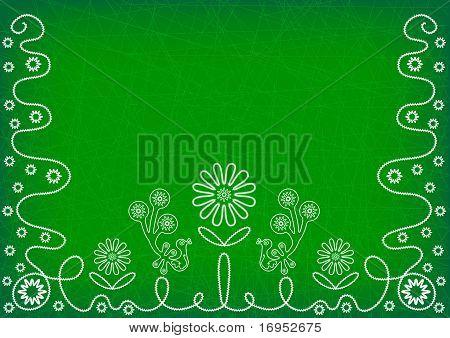 Deep Green Background