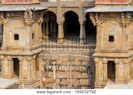 Alcoves At Chand Baori Stepwell