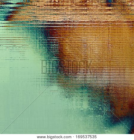 Hi res grunge texture or retro background. With different color patterns: yellow (beige); brown; green; blue; cyan