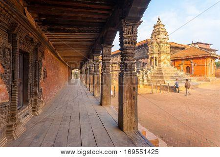 Bhaktapur Durbar Square Siddhi Laxmi Temple Hall