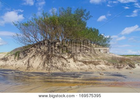 House Swallowed By Dunes