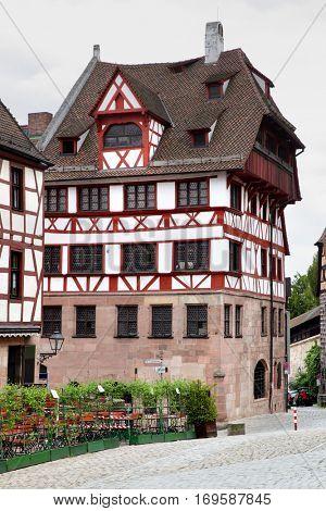 Albrecht Durer's house in Nuremberg, Germany