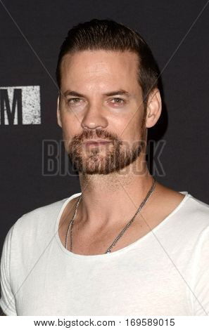 LOS ANGELES - SEP 30:  Shane West at the 2016 Knott's Scary Farm at Knott's Berry Farm on September 30, 2016 in Buena Park, CA