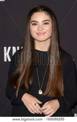 LOS ANGELES - SEP 30:  Landry Bender at the 2016 Knott's Scary Farm at Knott's Berry Farm on September 30, 2016 in Buena Park, CA
