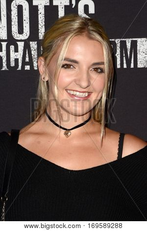 LOS ANGELES - SEP 30:  Rydel Lynch at the 2016 Knott's Scary Farm at Knott's Berry Farm on September 30, 2016 in Buena Park, CA