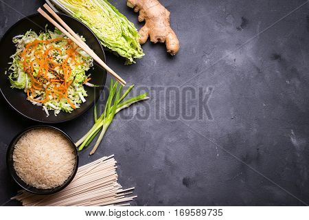 Asian Cooking Ingredients