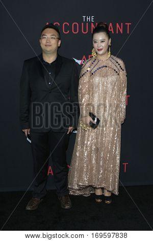 LOS ANGELES - OCT 10:  Kevin Xu, Jiaxian Liu at the