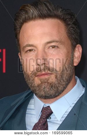 LOS ANGELES - OCT 10:  Ben Affleck at the
