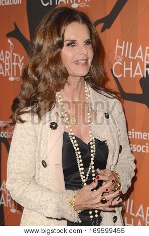 LOS ANGELES - OCT 15:  Maria Shriver at the 5th Annual Hilarity for Charity Variety Show: Seth Rogen's Halloween at Hollywood Palladium, on October 15, 2016 in Los Angeles, CA