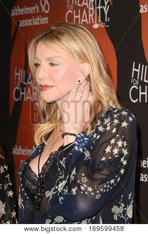 LOS ANGELES - OCT 15:  Courtney Love at the 5th Annual Hilarity for Charity Variety Show: Seth Rogen's Halloween at Hollywood Palladium, on October 15, 2016 in Los Angeles, CA