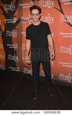 LOS ANGELES - OCT 15:  Joey McIntyre at the 5th Annual Hilarity for Charity Variety Show: Seth Rogen's Halloween at Hollywood Palladium, on October 15, 2016 in Los Angeles, CA