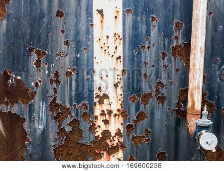 rusty material background and texture, dirty wall