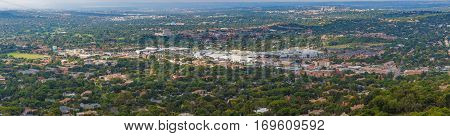 Elevated view of Randburg Cresta from Northcliff