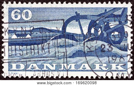 DENMARK - CIRCA 1960: A stamp printed in Denmark from the