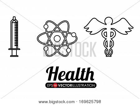 medical care related icons image vector illustration design
