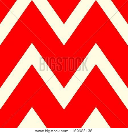 A beautiful pattern of white and red lines. Vector illustration