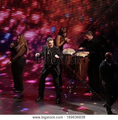 NEW YORK-JUL 23: Singer George Michael performs in concert during the